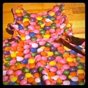 A bubblegum skater dress